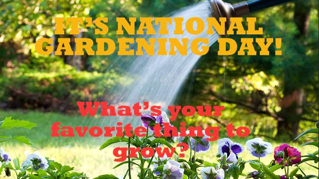 National Gardening Day Wishes Pics