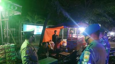 Cegah penularan covid -19, Polres Tanjung Balai gencar laksanakan Ops Yustisi di malam hari