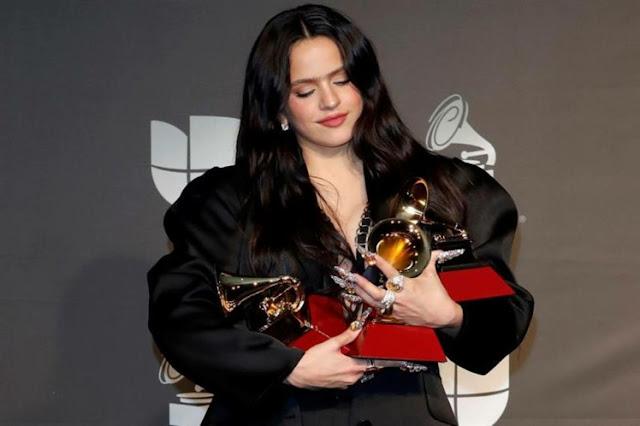Española Rosalía se impone a lo grande en los Grammy Latinos