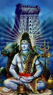 lord shiva with nandi wallpaper