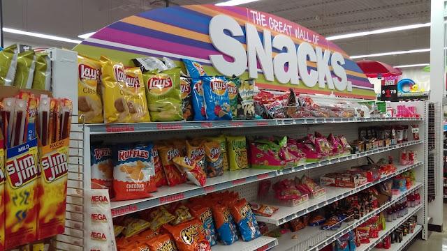 Loja Five Below em Orlando: snacks - lanches e doces