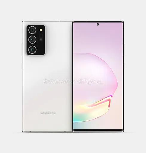 Samsung Galaxy Note 20+ CAD Renders Mengungkapkan Tampilan Besar dan Desain Premium