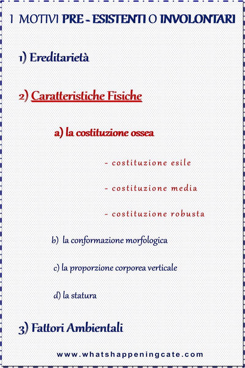 e Tre Tipologie di Costituzione Ossea - Come Influiscono sulla tua Forma del Corpo