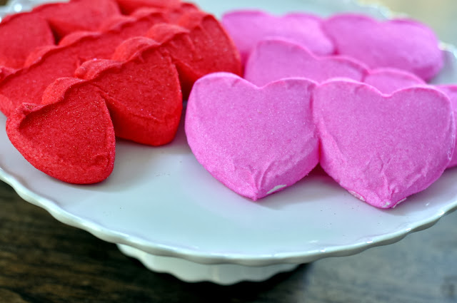 PEEPS® Strawberry Crème-Flavored Marshmallow Hearts and PEEPS® Marshmallow Hearts | Taste As You Go
