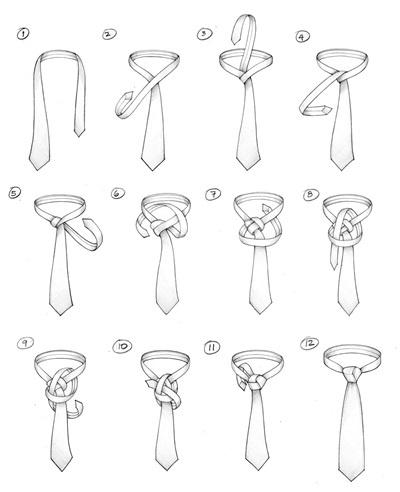 How to Tie A Tie : A TRINITY KNOT