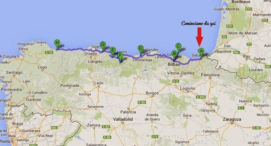 San Sebastian Spagna Cartina.San Sebastian Da Non Perdere