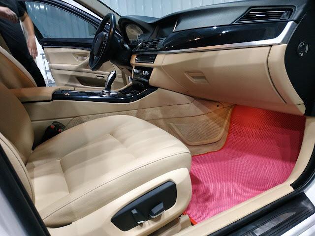 Thảm lót sàn BMW 5 Series thế hệ F10