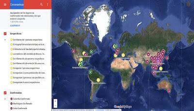 هل فيروس كورونا يقترب من بلدك؟ يمكنك معرفة ذلك مع هذه الخريطة من جوجل
