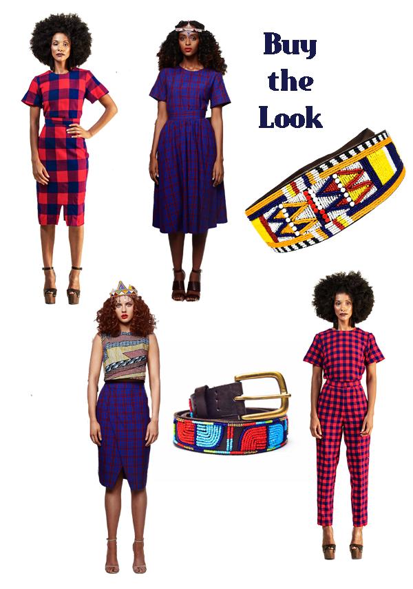 Flashback Summer: Maasai-Inspired 1950s Vintage Skirt - Collective Closets