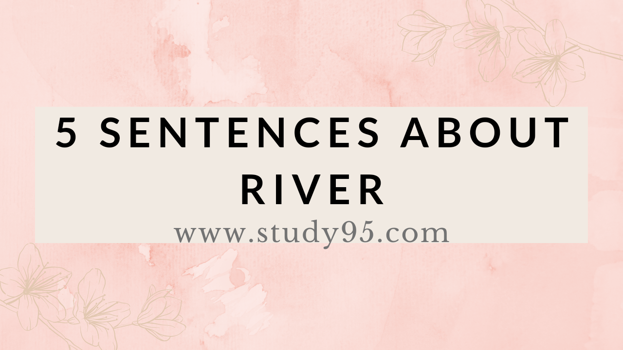 Lines in River in English