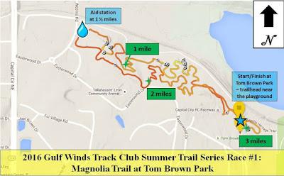 2016 Magnolia Trail Race