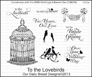 Stamps - Our Daily Bread Designs To the Lovebirds