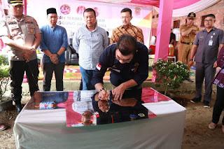 SKK Migas - PetroChina Serahkan Bantuan CSR ke Pemkab Tanjung Jabung Timur
