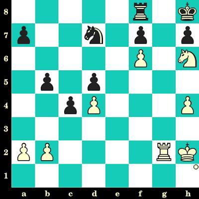 Les Blancs jouent et matent en 2 coups - Almira Skripchenko vs Ralph Zimmer, Bad Mondorf, 1991