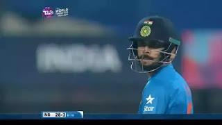 Virat Kohli 55* vs Pakistan Highlights