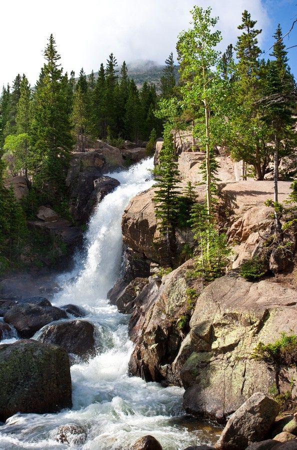 In-the-Money Options - Alberta Falls, Rocky Mountains National Park - Colorado