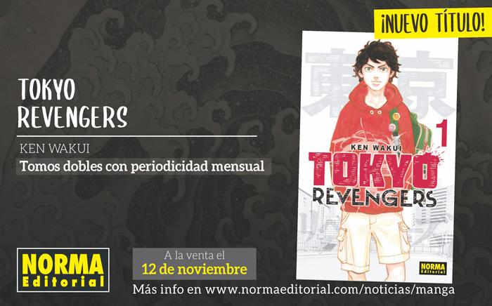Tokyo Revengers manga - Ken Wakui - Norma Editorial