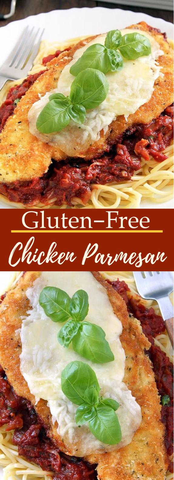 Gluten Free Chicken Parmesan #healthy #glutenfree