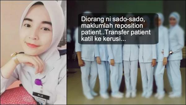 Jururawat Cun Ini Bagi 10 Sebab Untuk Mengahwini Staff Nurse. Antaranya...