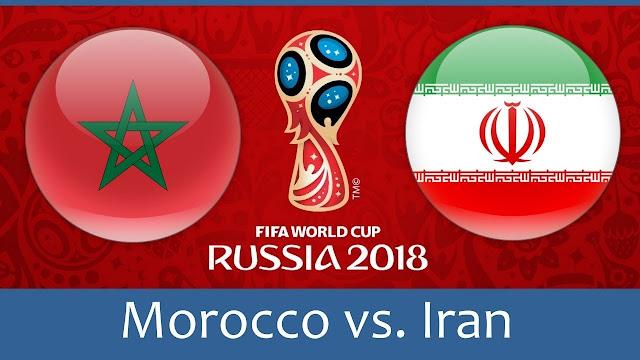 مشاهدة مباراة المغرب وايران اليوم 2018 بث مباشر يلا شوت YOUTUBE, المغرب وايران, يلا شوت