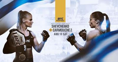 Ver UFC Fight Night: Shevchenko vs Carmouche 2 En vivo Español Online
