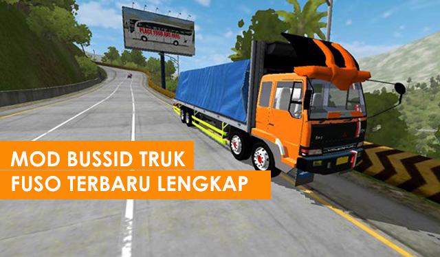 Download Mod Bussid Truck Fuso Terbaru