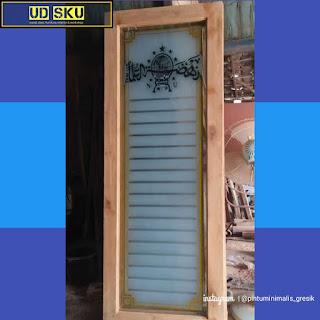 Kusen pintu minimalis jati surabaya