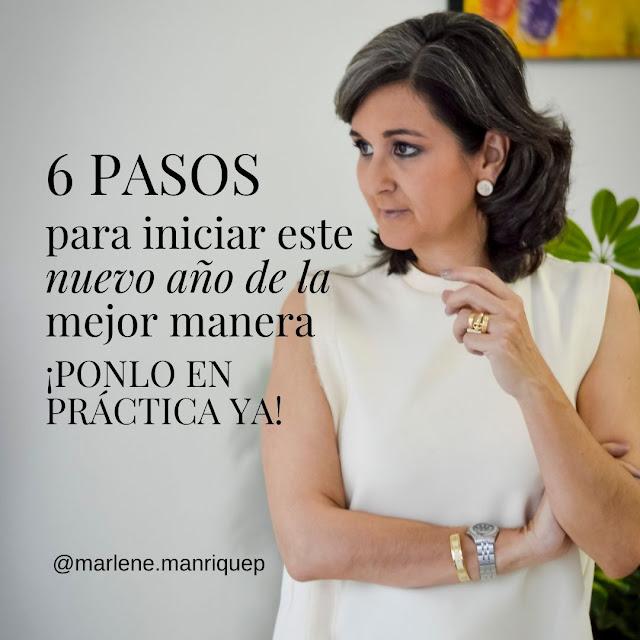 06 PASOS PARA INICIAR ESTE AÑO DE LA MEJOR MANERA ¡PONLO EN PRÁCTICA YA!