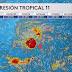 Depresión Tropical #11 se convertirá en la Tormenta Tropical Josephine en las próximas 24 a 48 horas.