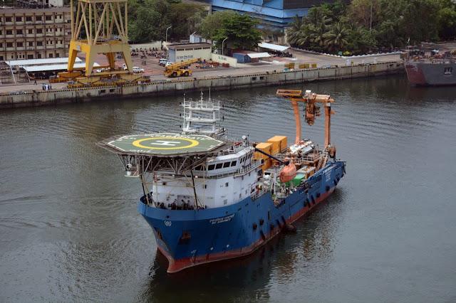 Buque de rescate de inmersión profunda de la Armada de la India (DSRV). Foto del Ministerio de Defensa de la India