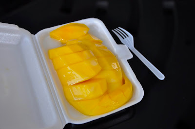 Manggo sticky rice bangkok