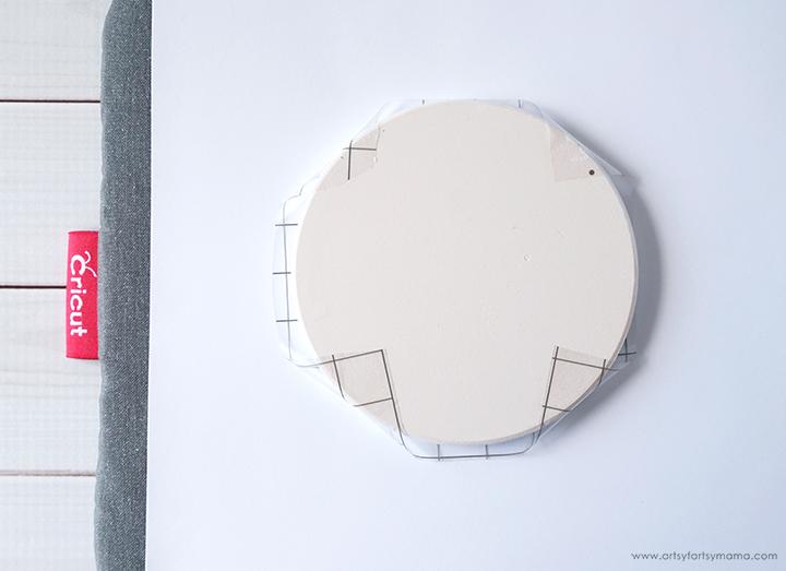 Cricut Infusible Ink Coaster Setup