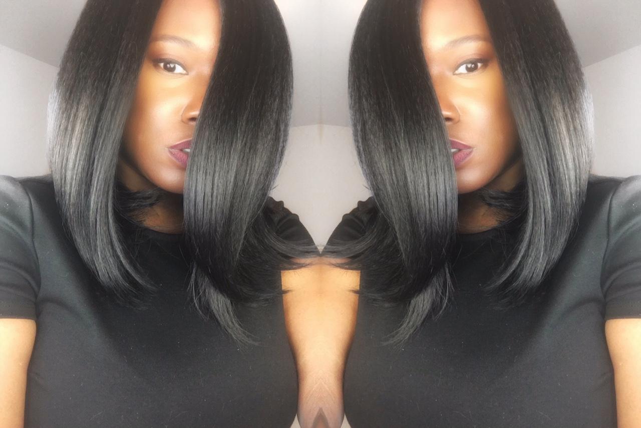 iamKeliB Bobbi Boss Copper Wig