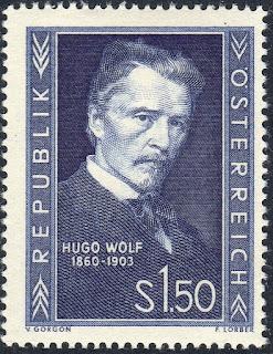 Austria 1953 Hugo Wolf