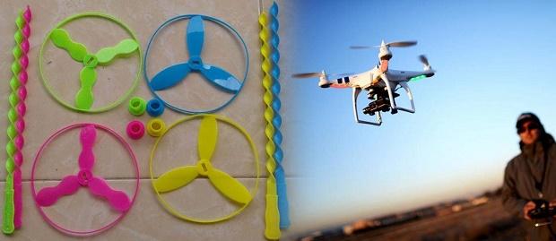 Drone Sederhana Tahun 90-an dan Teknologi Zaman Sekarang yang Bikin Anak 90-an Ngenes