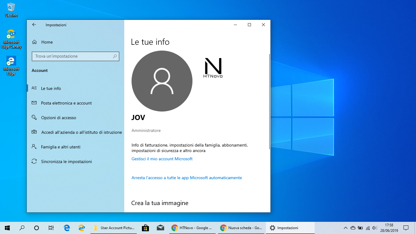 Ripristinare-Avatar-predefinito-Windows-10