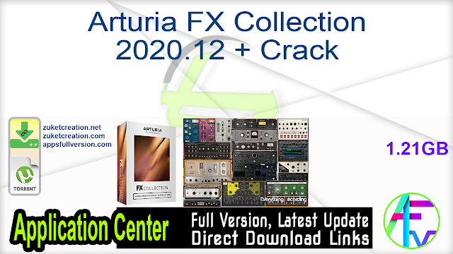 Arturia FX Collection 2020.12 + Crack