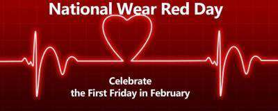 National Wear Red Day Wishes For Facebook