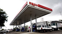 Exxon Station (Credit: Eric Thayer / Stringer / Getty Images)  Click to Enlarge.