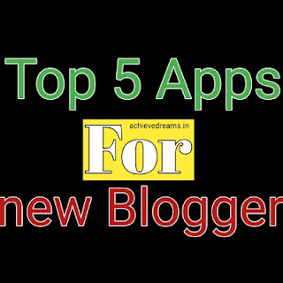 apps for blogger