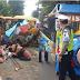 Puluhan Penumpang Odong-Odong Terlempar Ke Jalan Raya