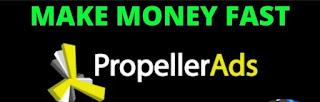 Propeller Ads alternatif adsense yang gurih
