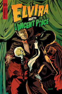 Elvira Meets Vincent Price from Dynamite Entertainment cover #1a