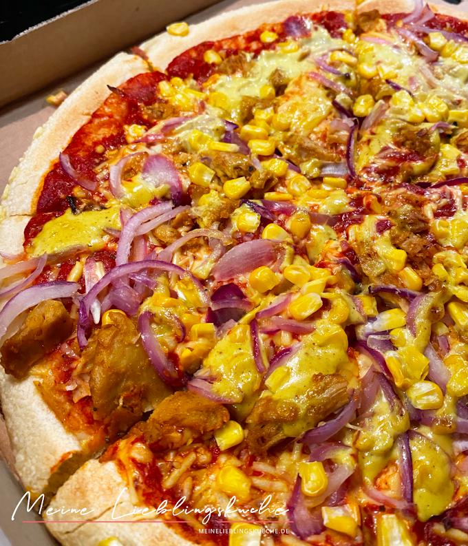 Getestet: Vegan BBQ Pizza von Dominos!