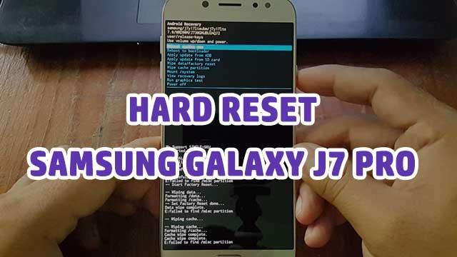 desbloquear - hard reset Samsung Galaxy J7 PRO