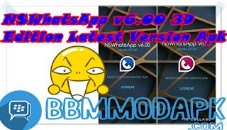 NSWhatsApp v6.00 3D Edition Latest Version Apk