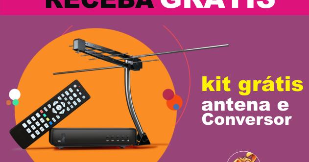 Brindes gr tis kit gratuito com antena e conversor for Antena 3 online gratis