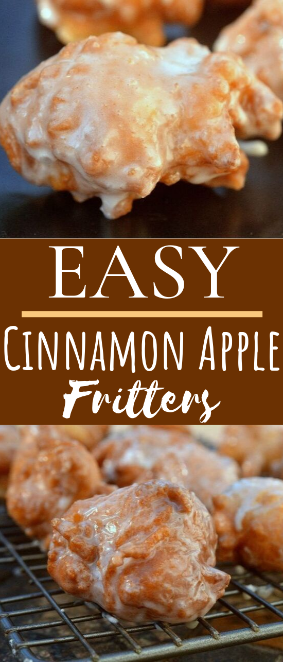 Easy Apple Fritters #desserts #apple