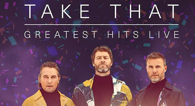 Take That Greatest Hits Live at the Roxy Cinemas