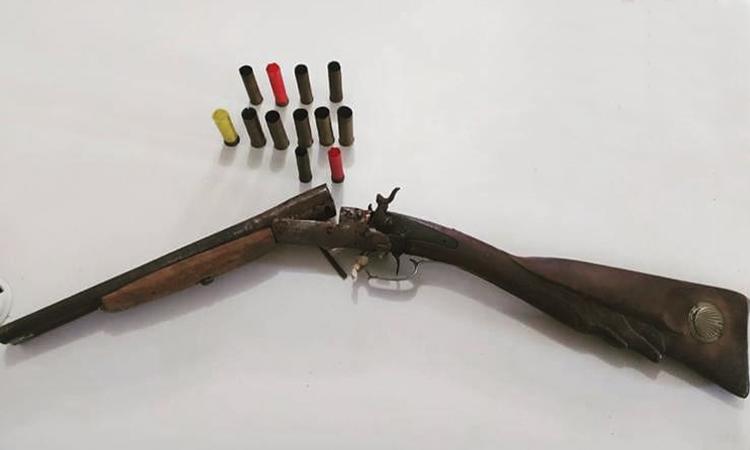 Cipe Sudoeste apreende arma de fogo e munições na zona rural de Ituaçu